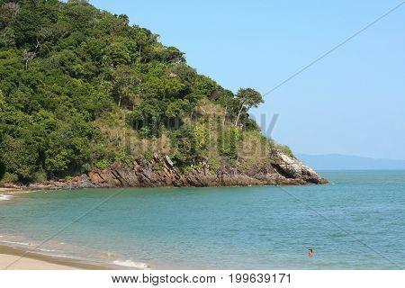 Tha Nod Beach, Location On South Of Lanta Island