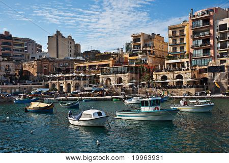 Spinola Bay, St. Julian's, Malta
