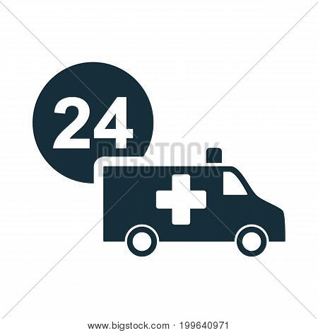 Ambulance Medical Van Nonstop Icon