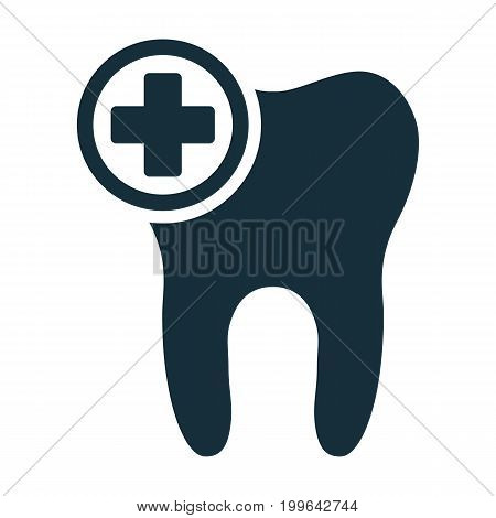 Tooth Add Plus Sign Icon