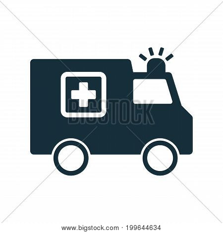 Ambulance Medical Van Icon