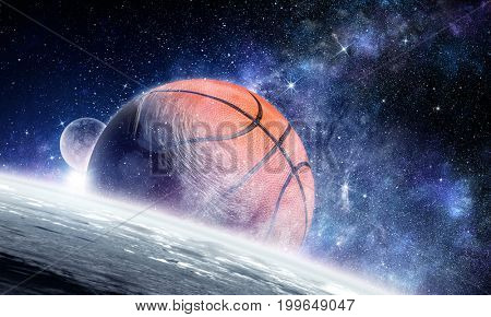Basketball game concept