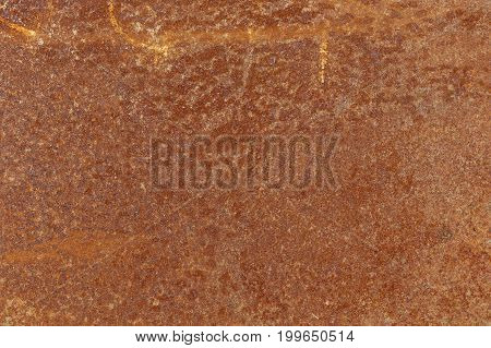 Grungy Rusted Steel metal background space for text