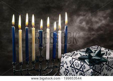 Jewish holiday Hanukkah Star of David Hanukkah menorah