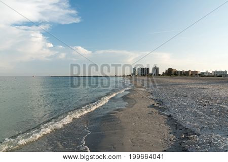 Morning in Sand Key Park, Clearwater, Pinellas County, Florida, USA