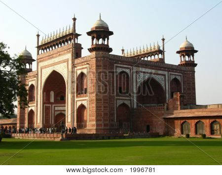 Gate To Taj Mahal