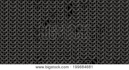 Seamless Chain Mail Texture