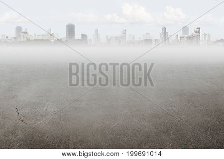 Cityscape background with place for text or objects