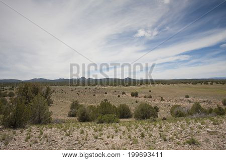 High desert in Arizona near the city of Prescott