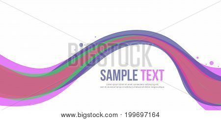 Abstract background style banner collection vector illustration