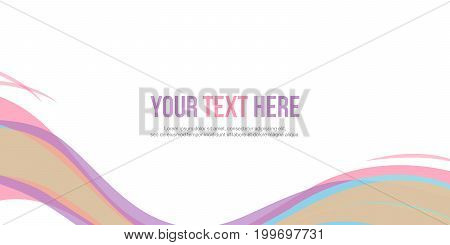 Collection abstract header website design vector illustration