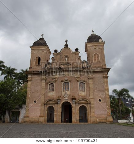 Mariana In The State Of Minas Gerais Is One Of Brazil's Best Preserved Colonial Towns. Mariana Is On
