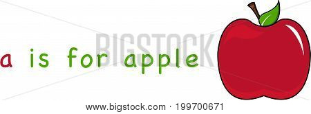 A Is For Apple 1