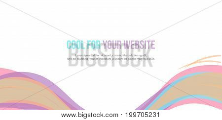 Background style for header website vector illustration