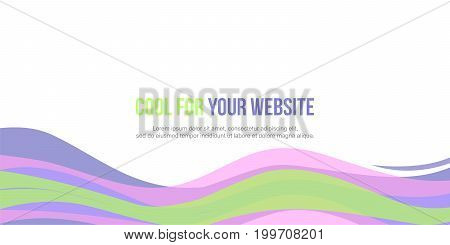 Banner abstract background style collection vector art