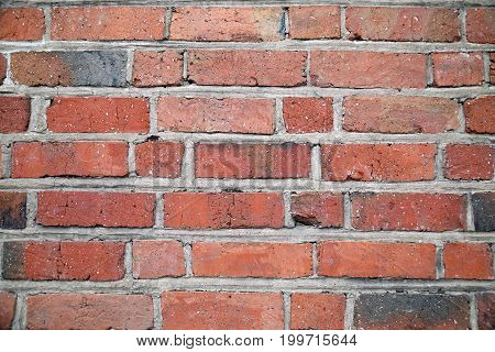 stonewall background brick, old red textured wall