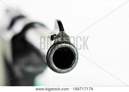 An Image of a handgun - pistol
