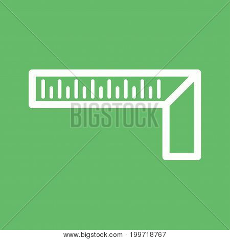 Try, setsquare, tile icon vector image. Can also be used for Hand Tools. Suitable for use on web apps, mobile apps and print media.