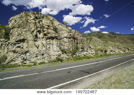 Federal highway M-52, Chui highway, Russia, the Altai Republic