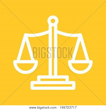 Libra, sign, zodiac icon vector image. Can also be used for Zodiac. Suitable for use on web apps, mobile apps and print media.