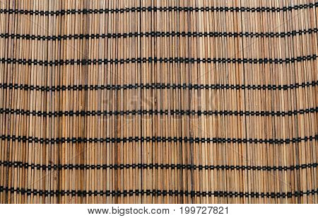 Brown color wood weave texture and background