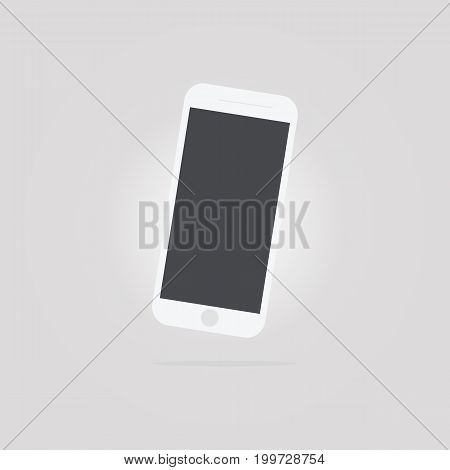 Smartphone or cellphone icon vector illustration .