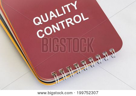 Quality Control - a Wire Coil Booklet