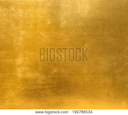 Golden Background Metal Plate