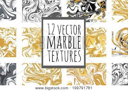 Marble background. Ink digital texture for your design