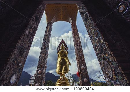 Big Buddha images at Wat Pha Sorn Kaew. Wat Pha Sorn Kaew or is a buddhist monastery and temple in Khao Kor Phetchabun