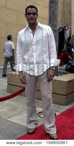 Luis Roberto Guzman at the 8th Los Angeles Latino International Film Festival held at the Egyptian Theater in Hollywood, USA on July 16, 2004.