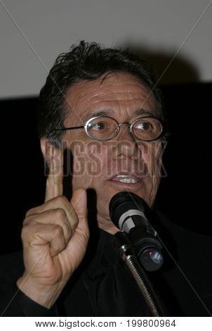 Edward James Olmos at the 8th Los Angeles Latino International Film Festival held at the Egyptian Theater in Hollywood, USA on July 16, 2004.