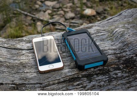 Portable Solar Panel For Charging Mobile Devices