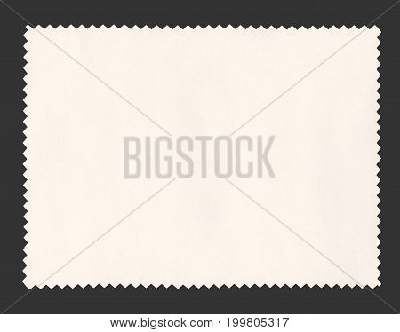 Paper Sample Isolated