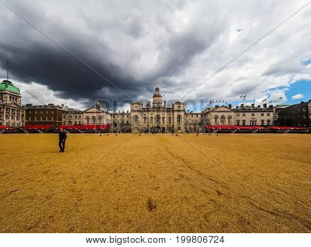 Horse Guards Parade In London (hdr)