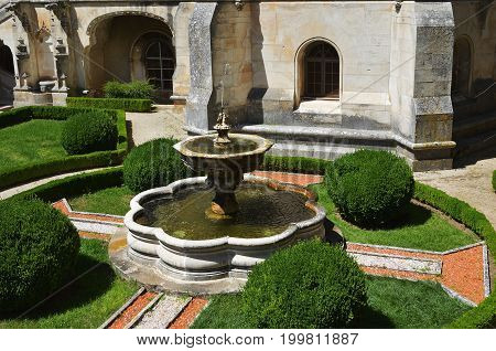 Bussaco Palace, Portugal. Fountain