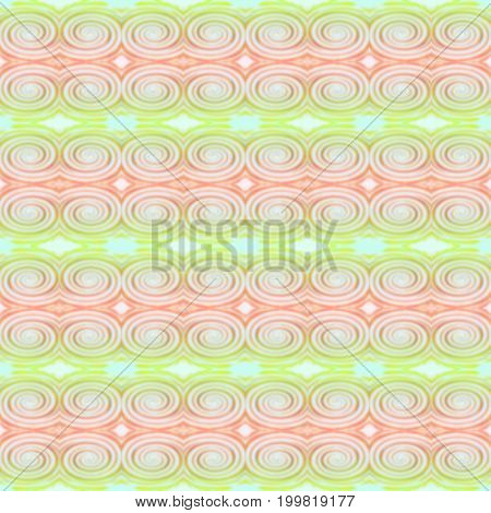 Abstract green and red twirl motion blur background