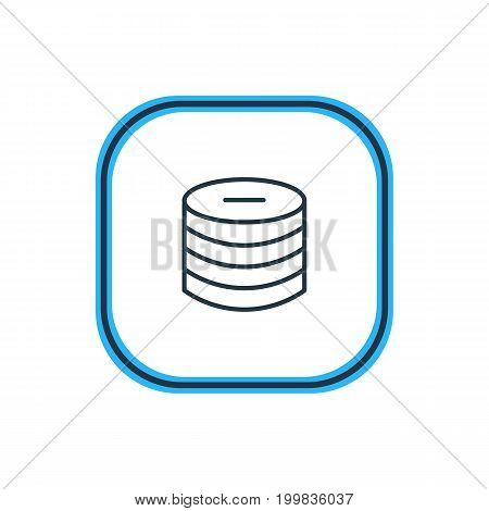 Beautiful Commerce Element Also Can Be Used As Minus  Element.  Vector Illustration Of Pay Outline.