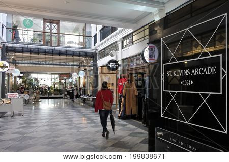 St Kevins Arcade Auckland New Zealand