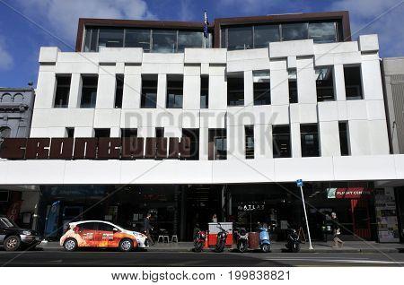 Ironbank Building Auckland New Zealand