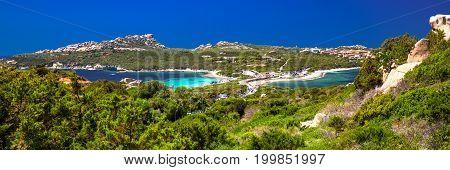 Beautiful Coastline View To Spaggia Zia Culumba And Spaggia Rena Di Ponente And Azure Clear Water