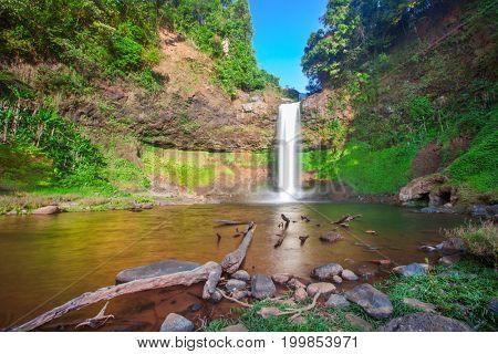 Tad E Tu Waterfall, Bolaven plateau, Laos