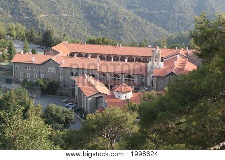 Kykkos Abbey In Cyprus