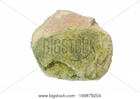 rock texture isolated on the white background
