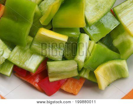 Peppers Vegetables Food
