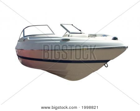 Luxury Boat Front Isolated
