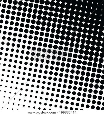 Abstract Dotted Vector Background Halftone Effect 4.eps