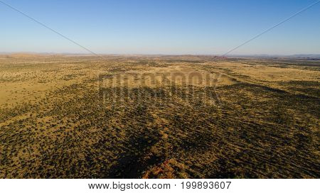 Aerial Views Over The Kalahari In The Northern Cape Of South Africa