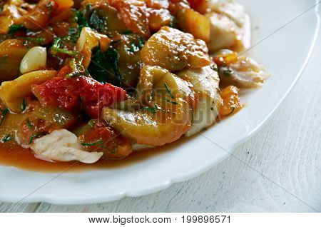 Turkish Stew With Chicken