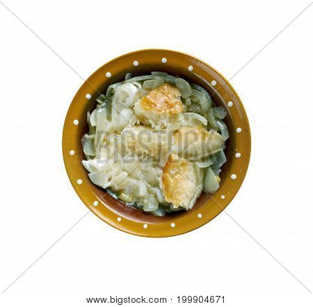 German Peasant Onion Soup